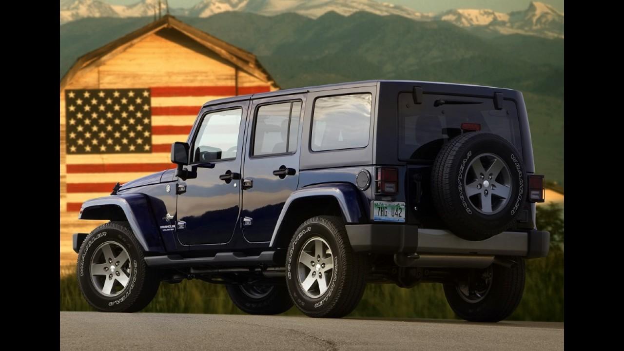 Máxima eficiência: novo Wrangler terá carroceria de alumínio e motores turbo