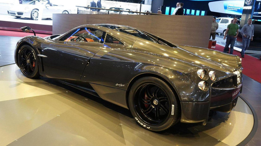 Pagani Huayra Carbon Edition headed for Geneva