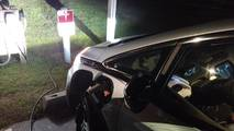 Bolt EV at Tesla Destination charger