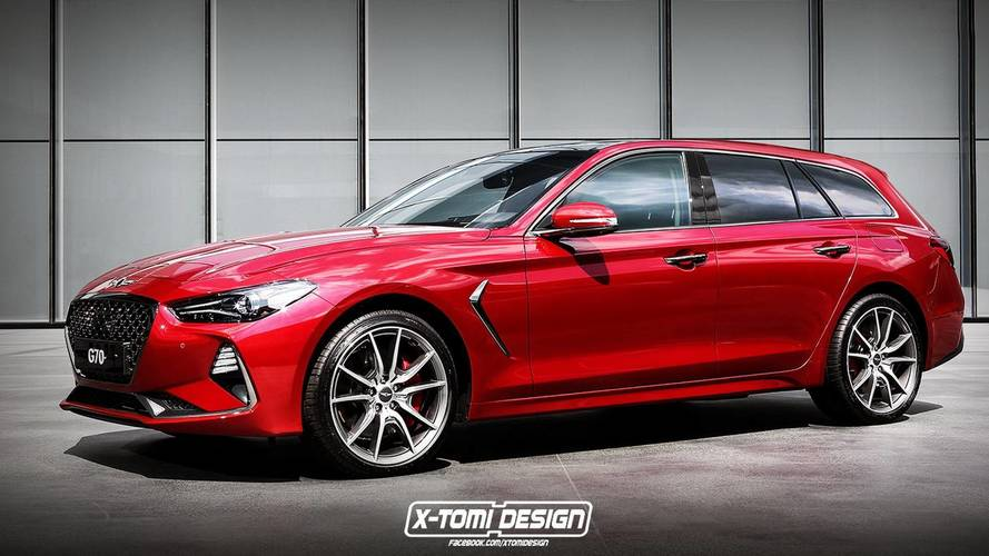 Should Genesis Do A G70 Wagon? Let This Rendering Help You Decide