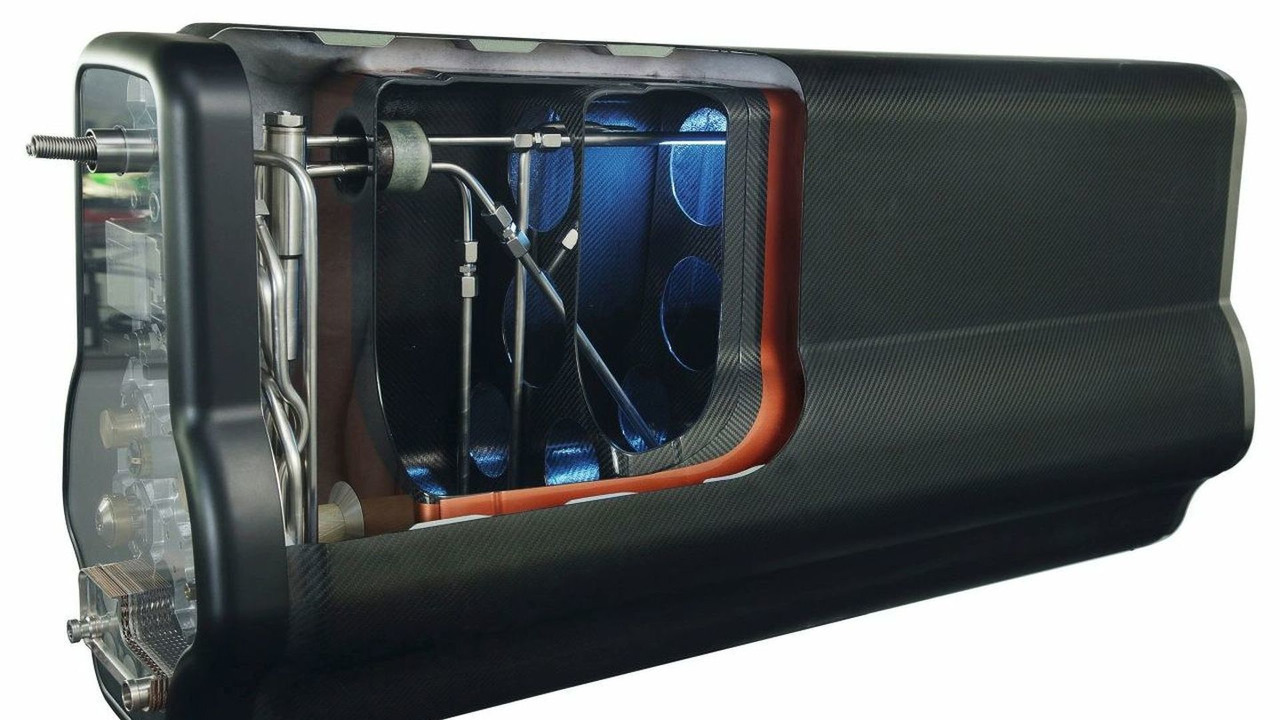 BMW LH2 lightweight formtank