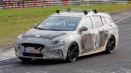 Flagra - Nova perua Focus 2018 é testada em Nürburgring