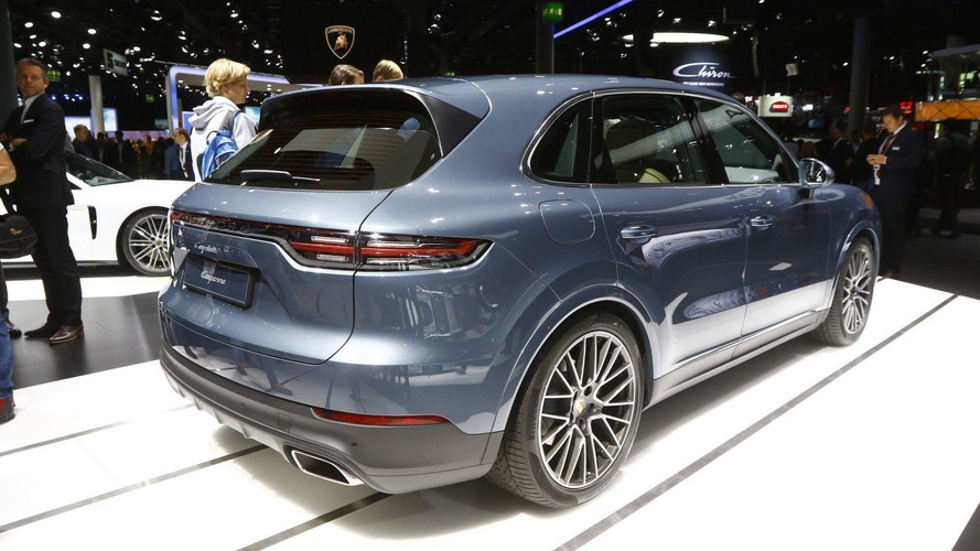 2018 porsche cayenne turbo. wonderful cayenne 2018 porsche cayenne turbo live in frankfurt to porsche cayenne turbo o