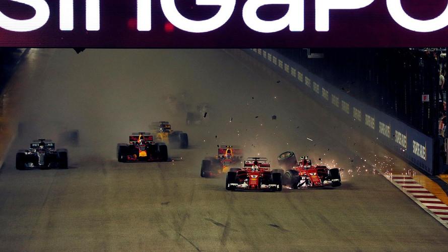 F1 - Catastrophe pour Ferrari, jackpot pour Hamilton à Singapour
