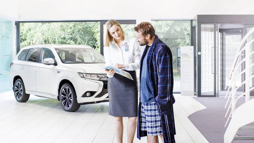 Mitsubishi launches online car-buying service