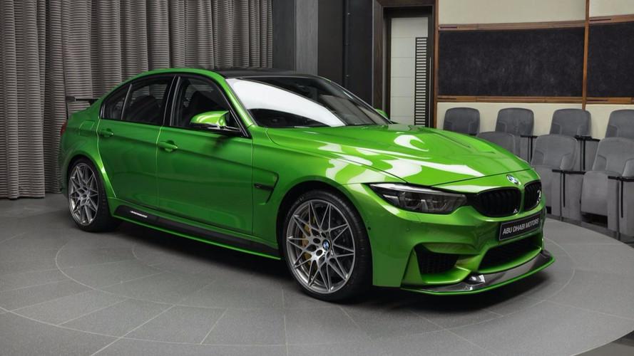 PHOTOS – Une BMW M3 au look très distingué