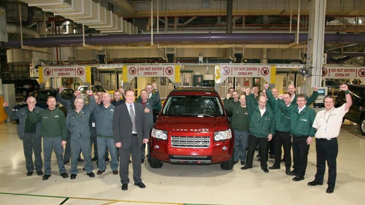 100,000th Land Rover Freelander 2
