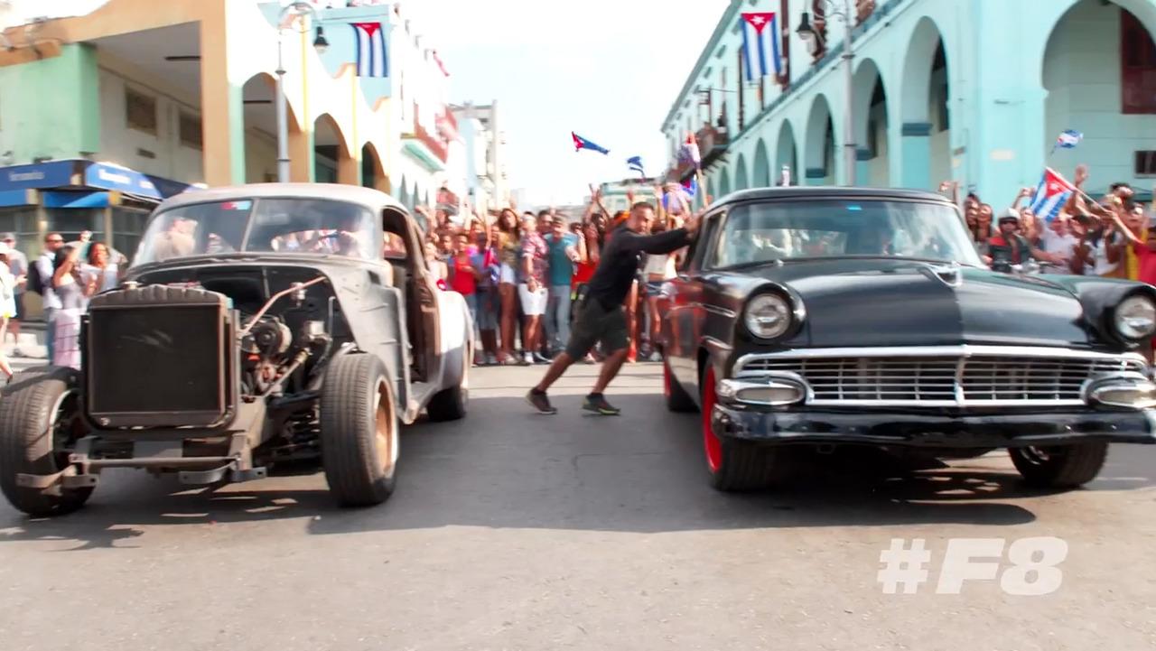 Furious 8 in Cuba