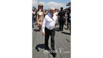 Bernie Ecclestone, sur la grille