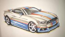 2017 Richard Petty Mustang