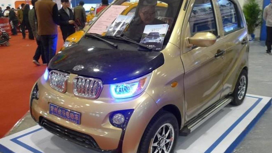 Jinma JMW2200 is a horrendous BMW i3 knockoff