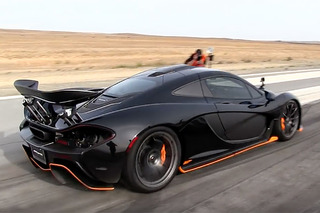 Watch a McLaren P1 Drag Race its McLaren 650S Sibling
