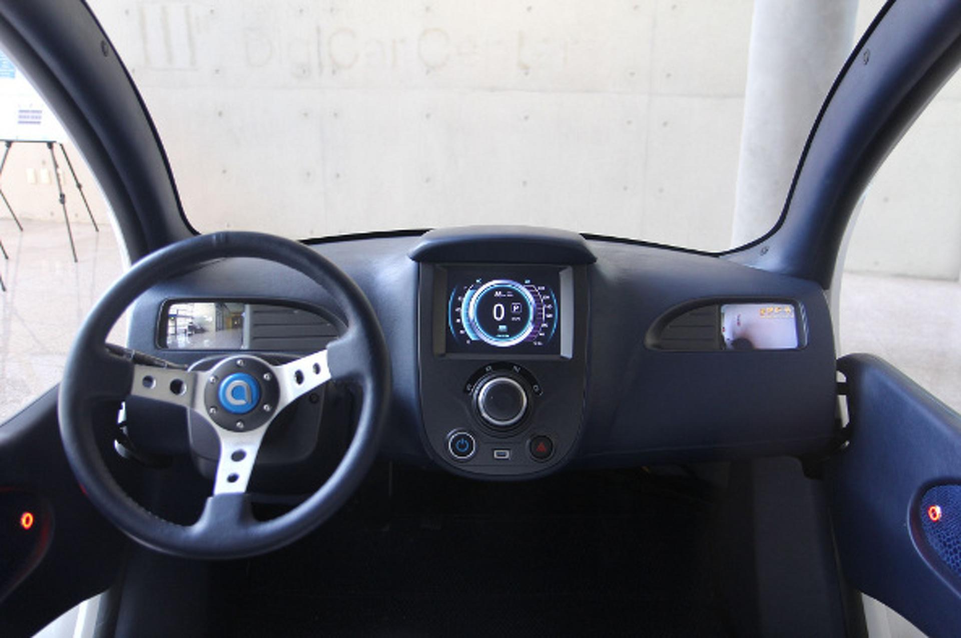 Korean Group Develops Folding Electric City Car