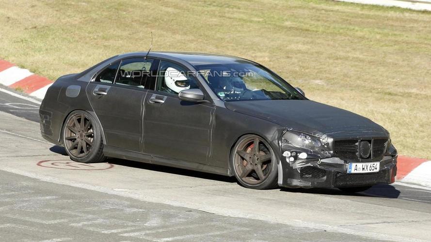 Mercedes-Benz C63 AMG successor spied undergoing testing