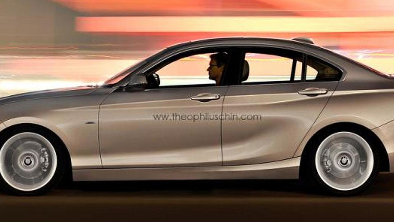 BMW 2-Series GranCoupe render 28.10.2013