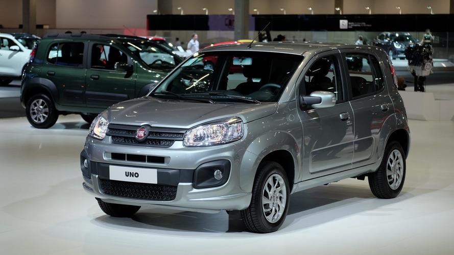 Fiat faz promoção com descontos para vários modelos - Uno Attractive parte de R$ 37.790