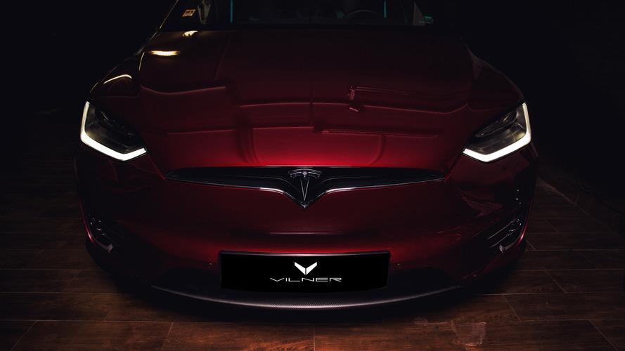 Telsa Model X by Vilner