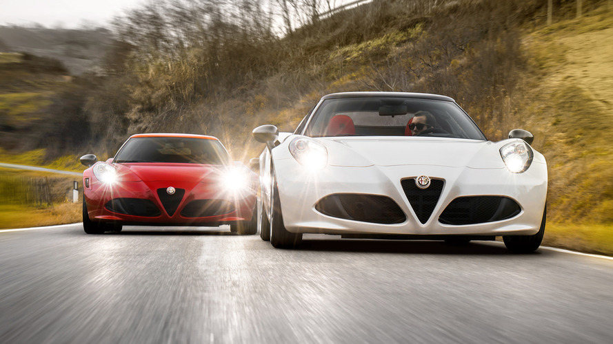 Refreshed Alfa Romeo 4C Coming Next Year, No Manual Planned