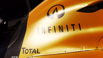 Renault Sport F1 Team RS16 Infiniti branding