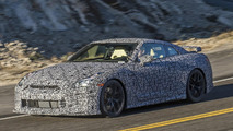 Nissan GT-R spy photo