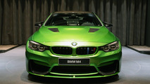 BMW M4 Java Green