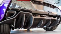 McLaren 570S Coupe in Mauvine Blue