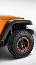 Jeep Wrangler Rubicon Sunriser concept