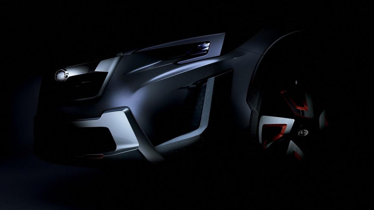 2016 Subaru XV Concept teaser