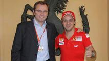 Felipe Massa & Stefano Domenicali