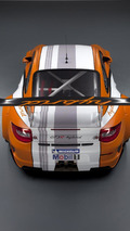Güncellenmiş Porsche 911 GT3 R Hybrid Version 2.0 Nürburgring 24 Saat'e hazır (2011)