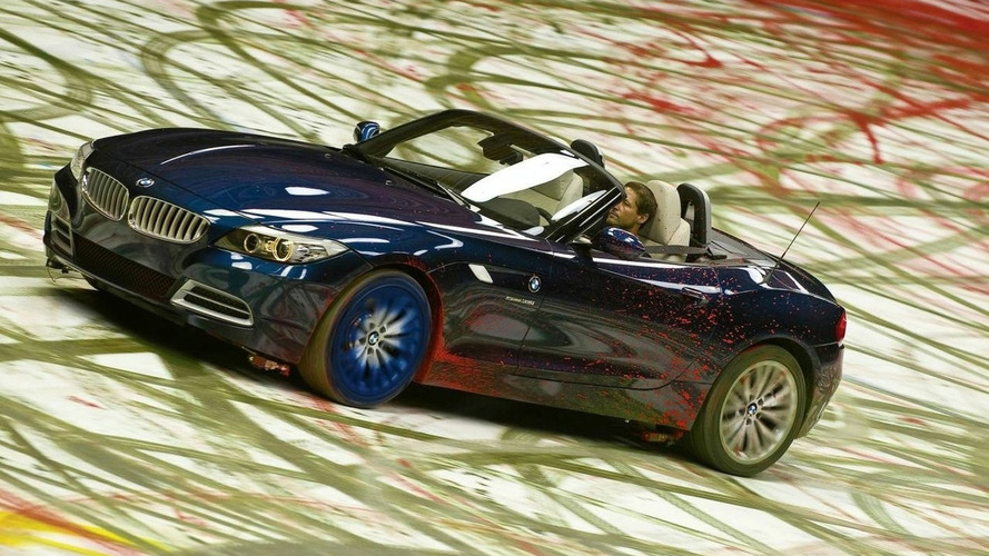 New BMW Z4 is an Art Car of a different kind - Painting Dynamics