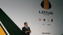 Tony Fernandes (MAL), Malaysia Racing Team Principal - Lotus Cosworth Racing Launch - Formula 1 launch, 12.02.2010 London, England