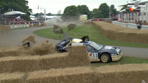 Ford RS200 Goodwood Crash