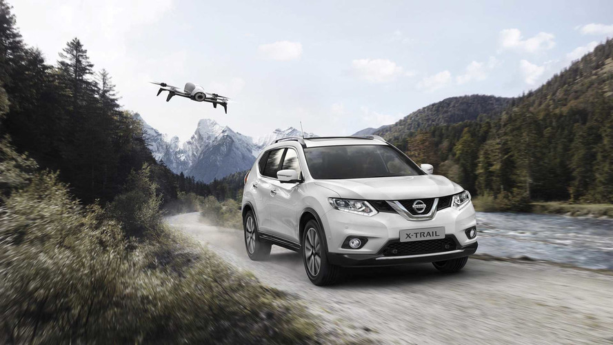 Buy A Nissan X-Trail X-Scape, Get A GPS Tracking Drone