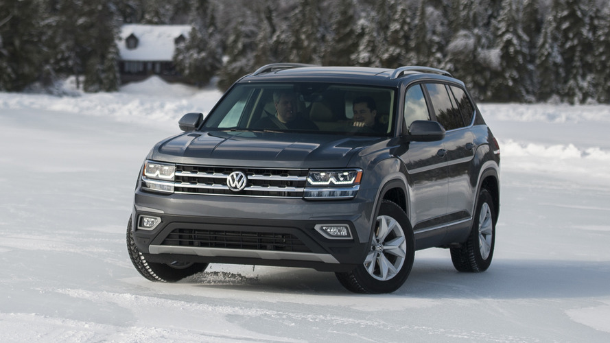2018 VW Atlas SUV Priced From $30,500