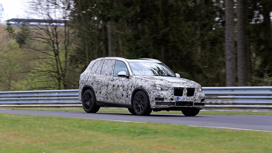 BMW va bientôt présenter son nouveau X5