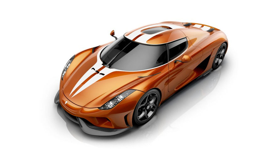 Koenigsegg'in tasarım şefi leziz Mandarine Regera'yı tasarladı