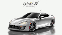 Toyota 86 gets supercharged by Abflug