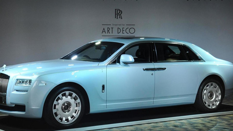 Rolls-Royce Ghost Extended Wheelbase Art Deco Edition revealed