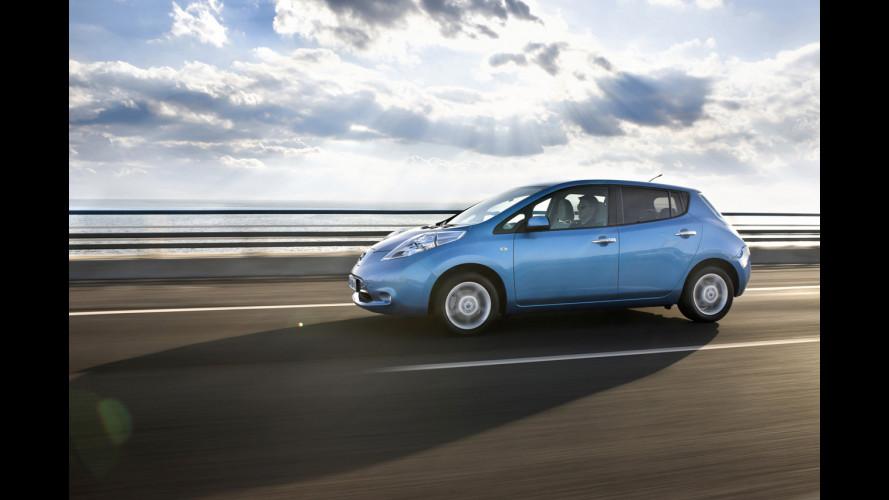 Nissan Leaf è Auto dell'Anno 2011-2012 in Giappone