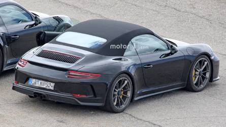 Porsche 911 Prototype Looks Like A GT3 Touring Cabrio, But Is It?