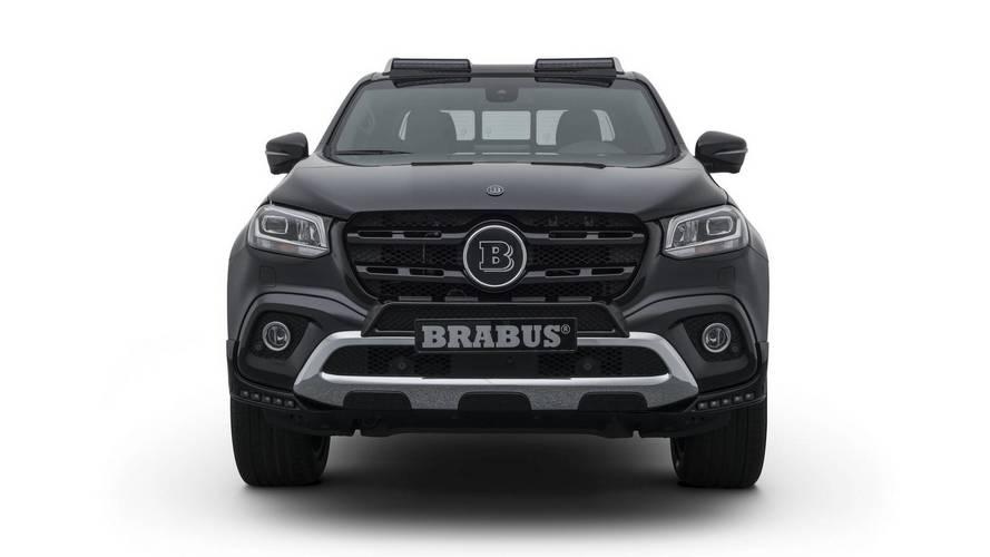 Brabus reveals tuned Mercedes X-Class pickup truck