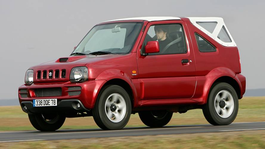 Suzuki Jimny Through The Years