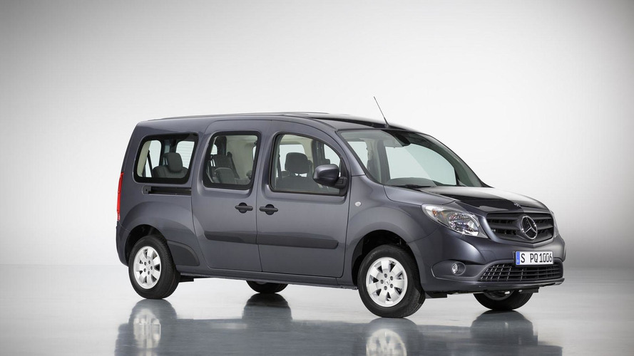 Mercedes Citan extra-long wheelbase model launched
