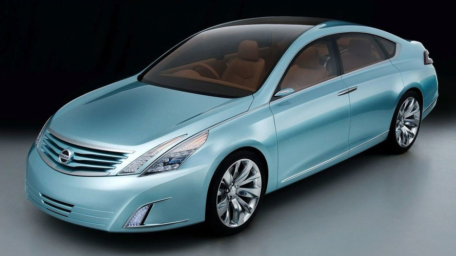 Nissan Intima Concept Revealed Ahead of Tokyo Debut