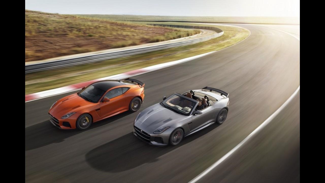Jaguar F Type SVR'nin ABD ve İngiltere pazar fiyatları açıklandı