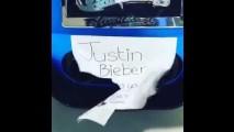 Justin Bieber'in Ferrari'sinin sesi, kendi sesinden daha güzel!