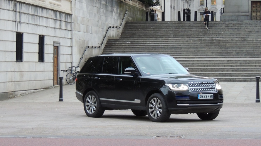 Prince Wiliam Range Rover