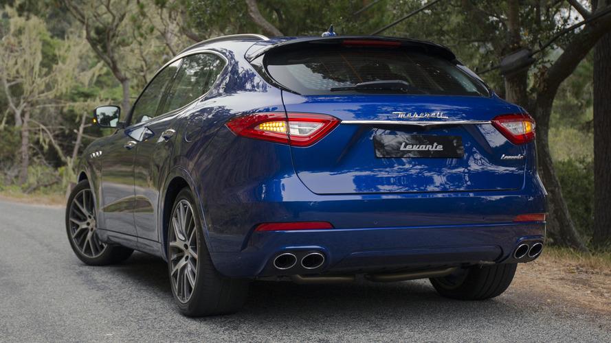 Maserati Levante üretimi talep zayıflığı nedeniyle durduruldu