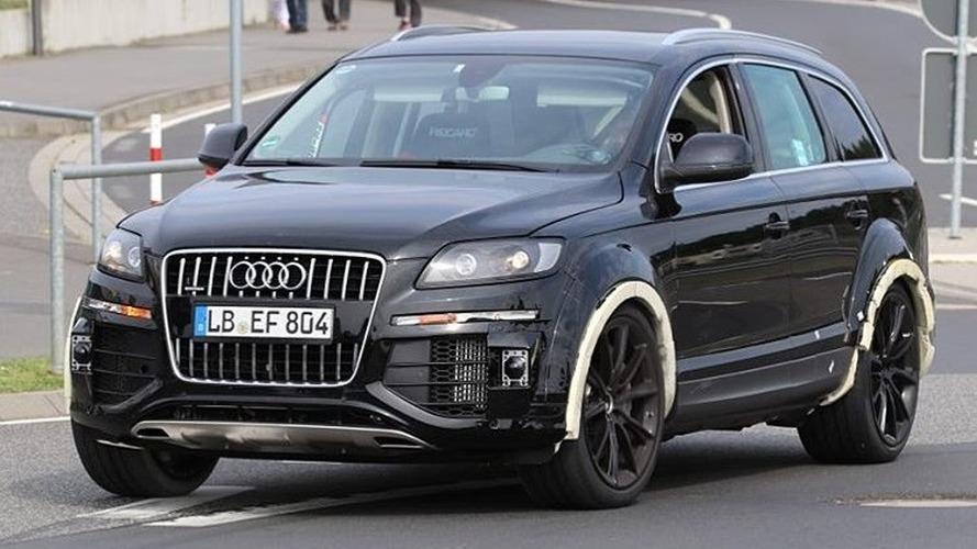 Gizemli Audi Q7 test aracı oldukça ilginç görünüyor